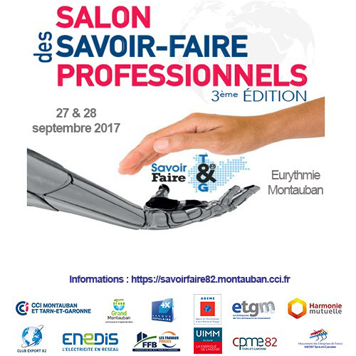 Salon des savoir faire professionnels for Salons professionnels 2017