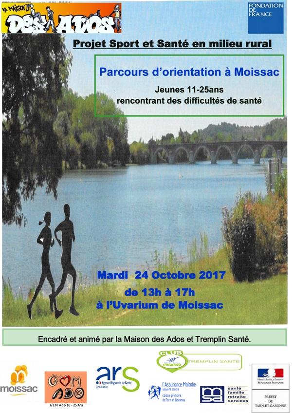 Parcours d 39 orientation moissac for Maison d orientation
